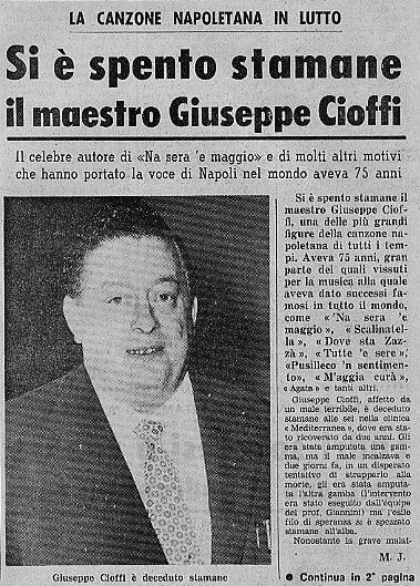 Giuseppe Cioffi Net Worth